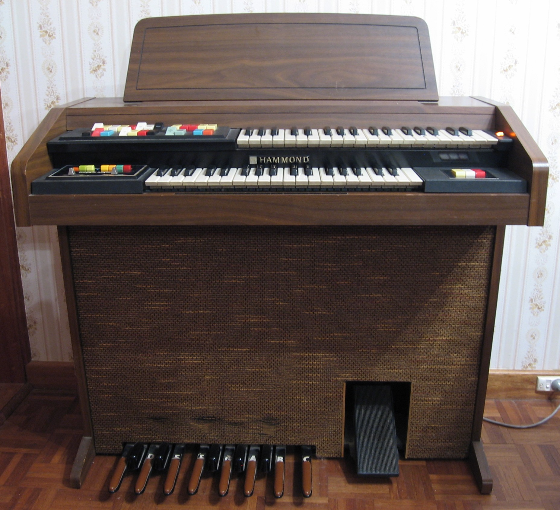 Hammond 123J3 organ review