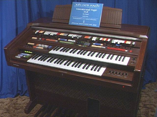 Technics SX-U90 organ picture