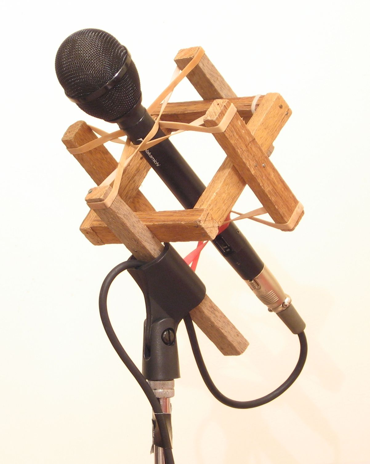 Home Made Microphone Shockmount